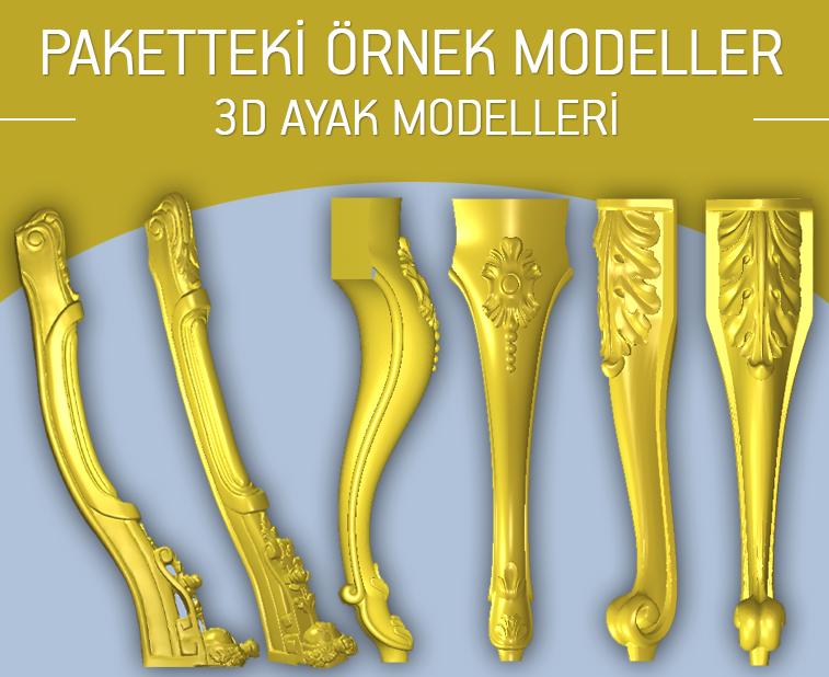 3d-ayak-modelleri